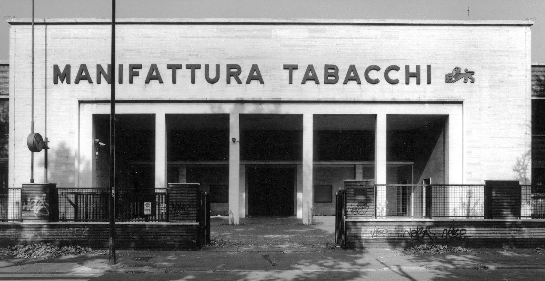 L'ingresso della Manifattura Tabacchi