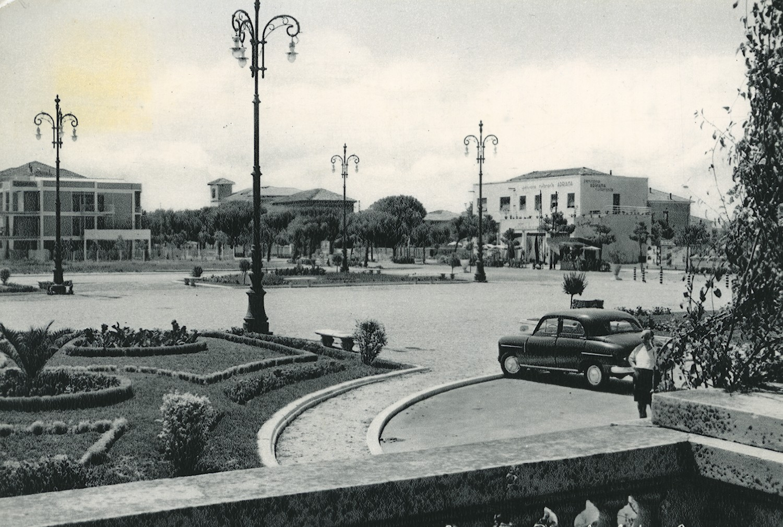 Cesenatico, cartolina storica, 1955