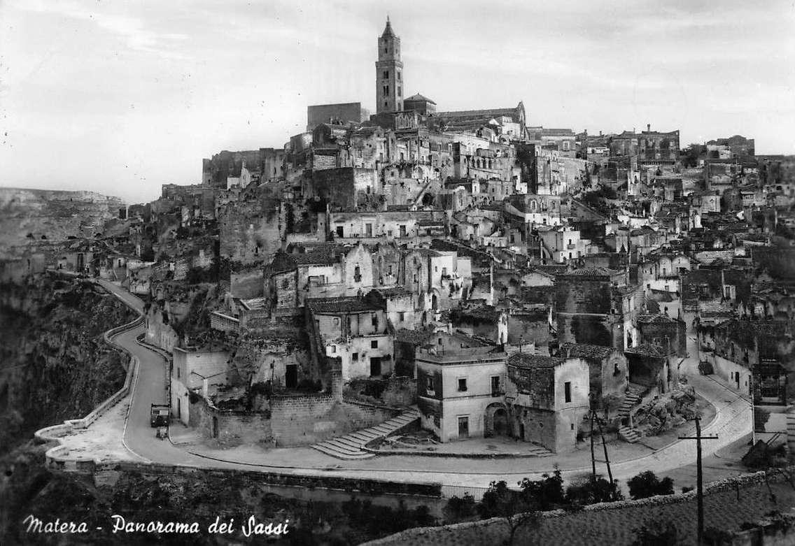 I Sassi di Matera nel 1961