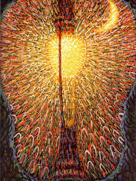 Balla, Lampada ad arco, MoMA, New York, 1909