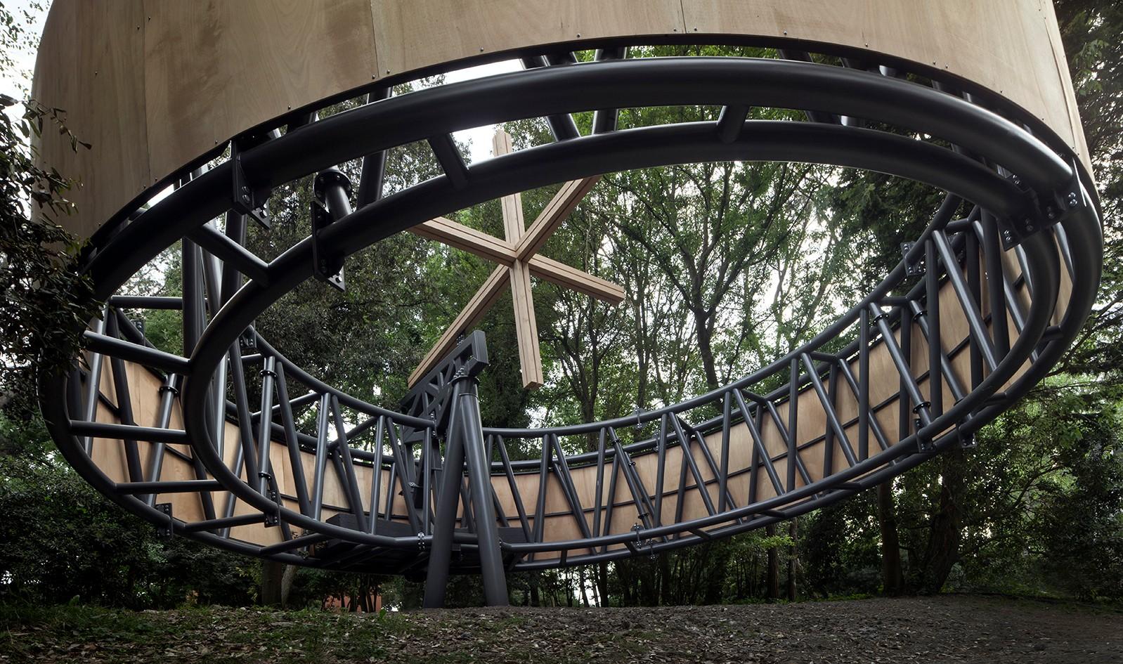 Javier Corvalán, progetto realizzato con l'azienda Simeon, specializzata in strutture in acciaio, alluminio, legno e vetro. © AC_ Photo by Alessandra Chemollo