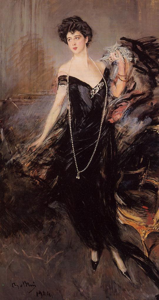 G. Boldini, Ritratto di Donna Franca, 1914