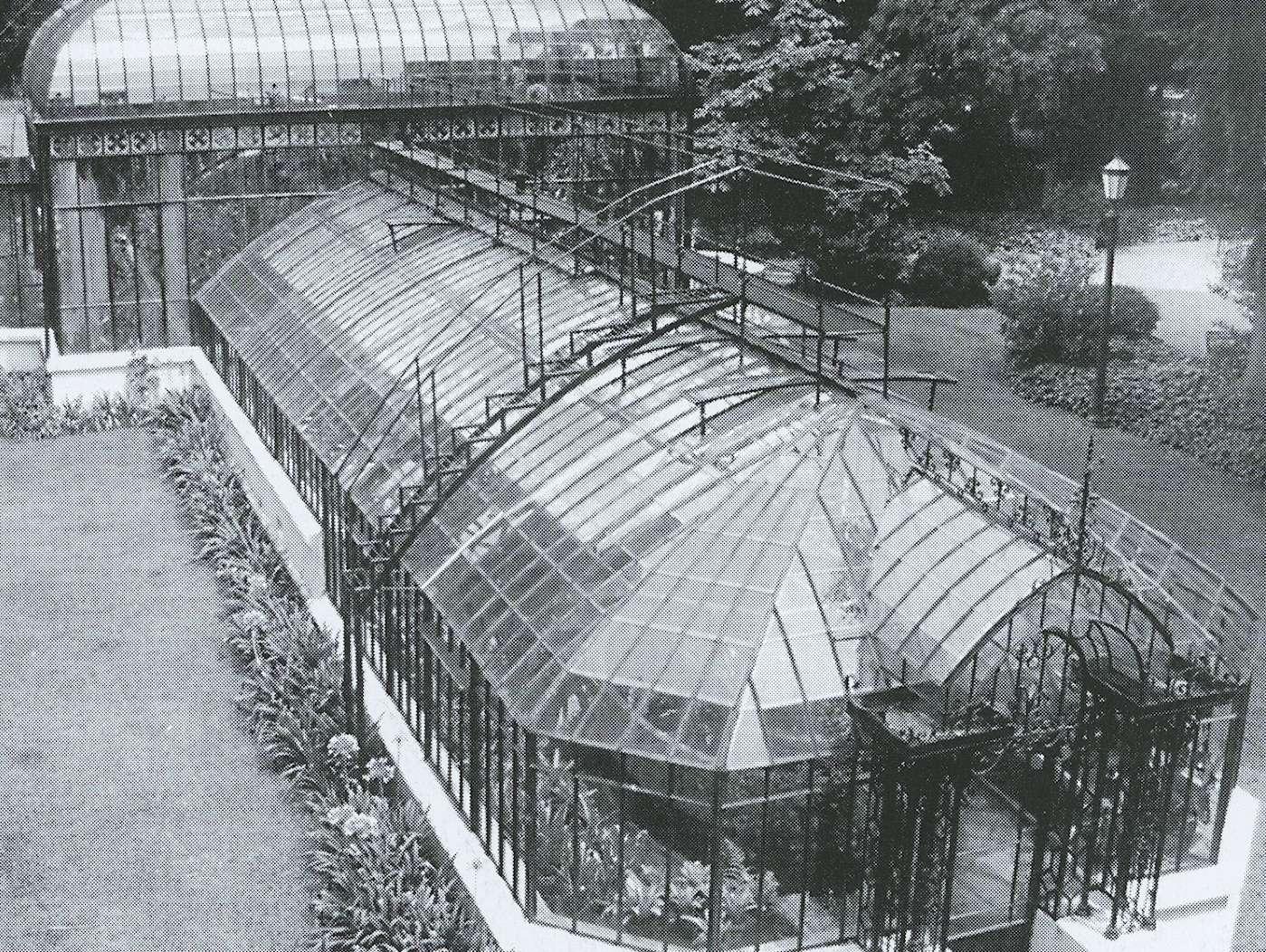 Buenos Aires, serra in ferro e vetro, Orto Botanico