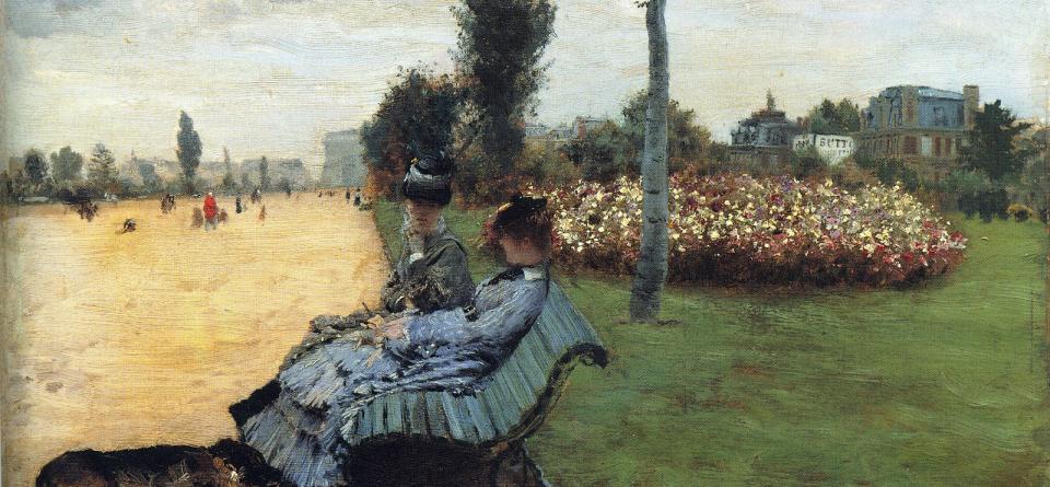 G. De Nittis, Sulla panchiana degli Champs-Elyses
