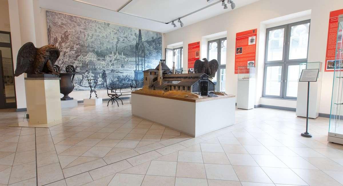 Il Museo della Ghisa della Renania ospitato a Bendorf presso il castello di Sayn