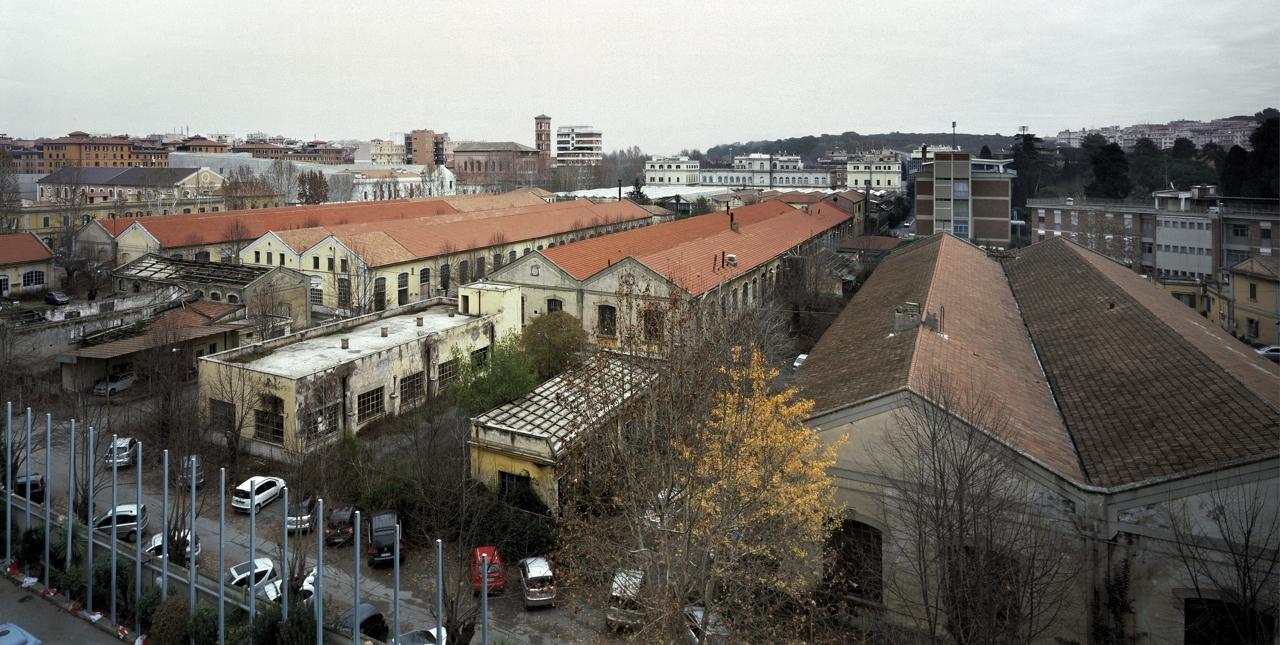 Roma, ex caserma Guido Reni