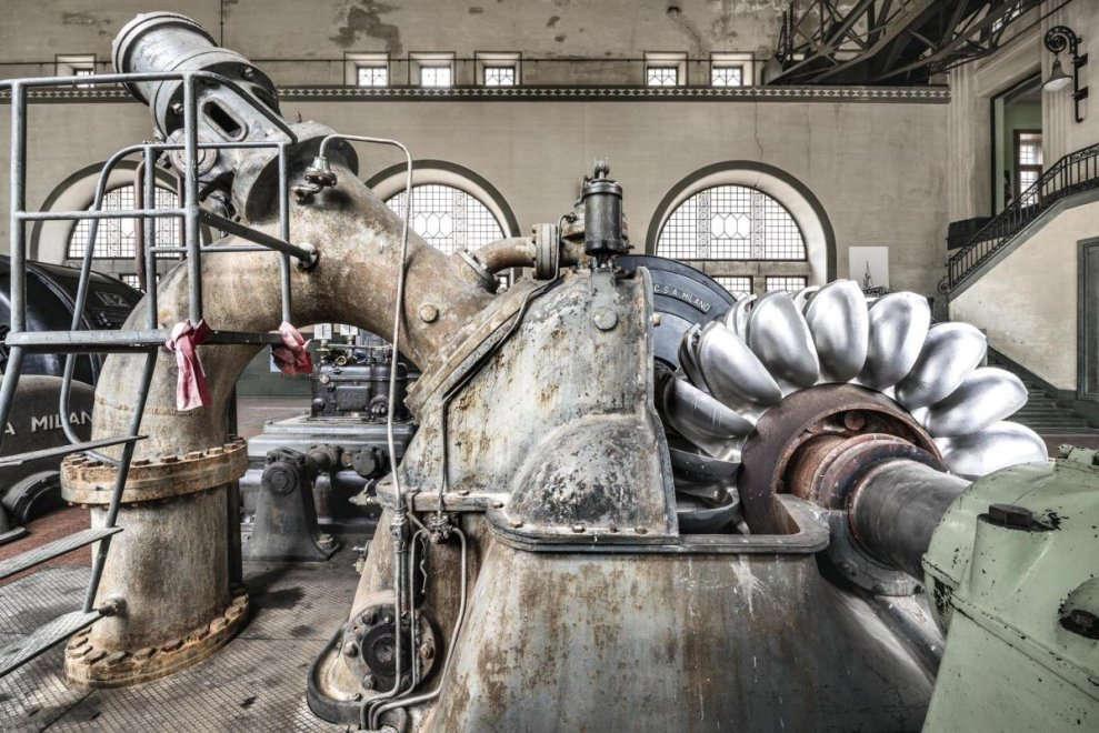 Centrale idroelettrica di Fraele, Valtellina (foto di F. Rodino,2016)