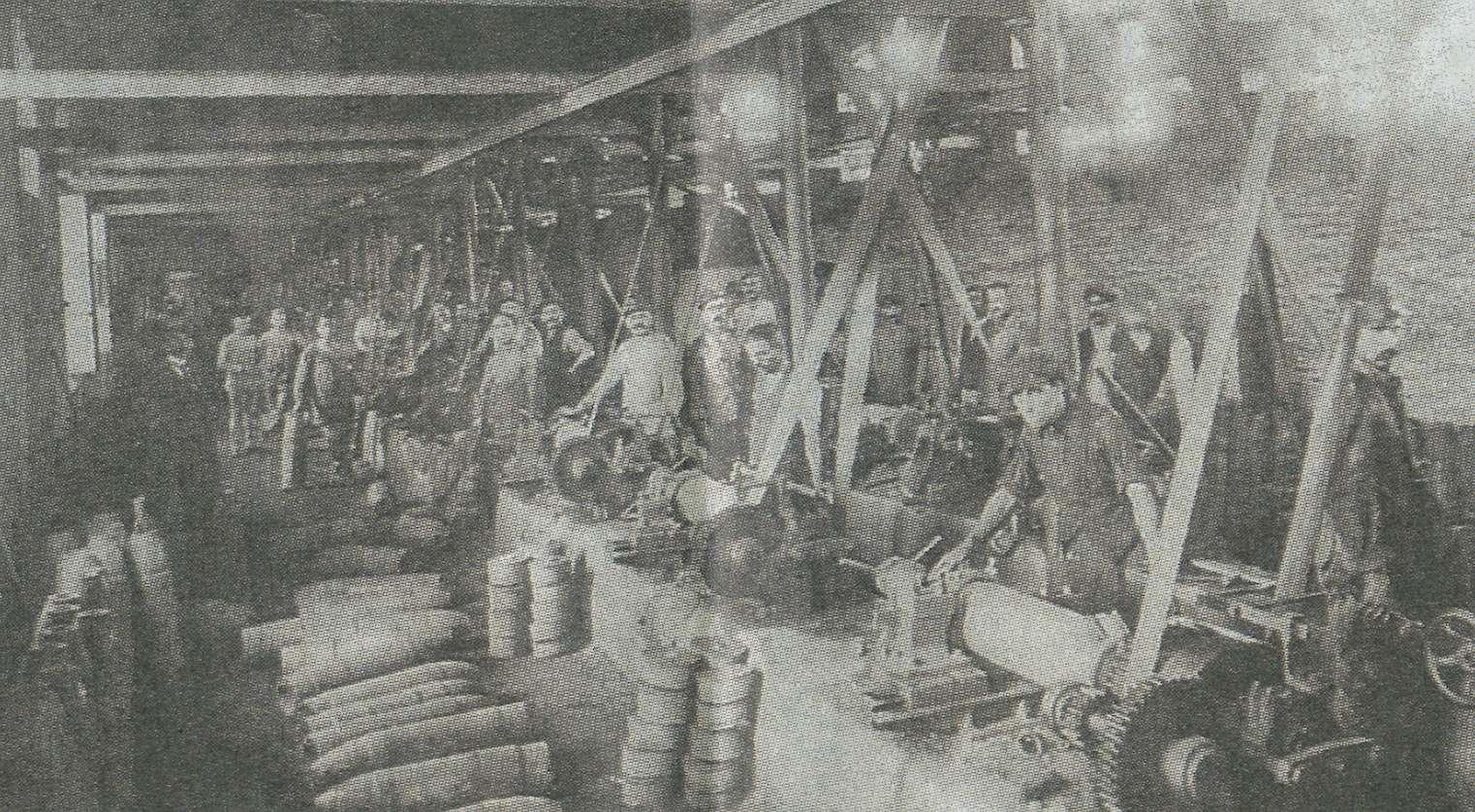 Produzione di armamenti nella Fabbrica Calzoni, 1942-45