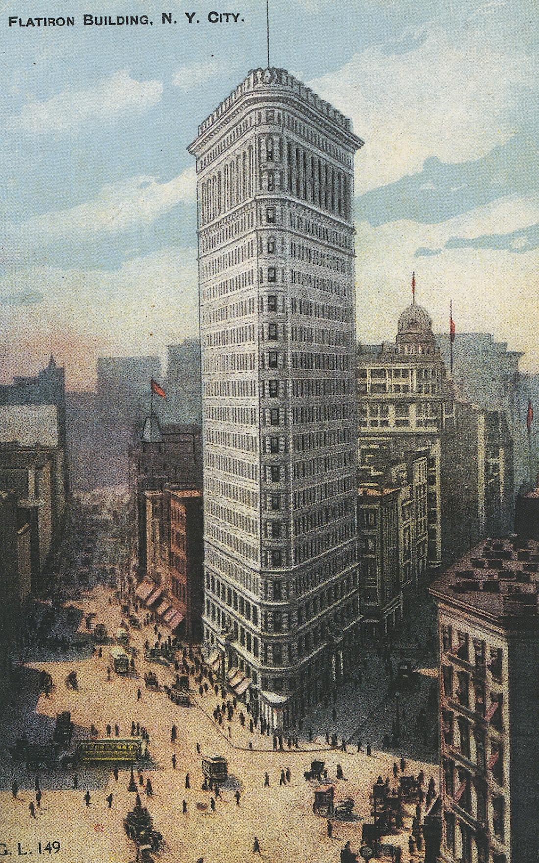 "Flatiron Building, ""ferro da stiro"""