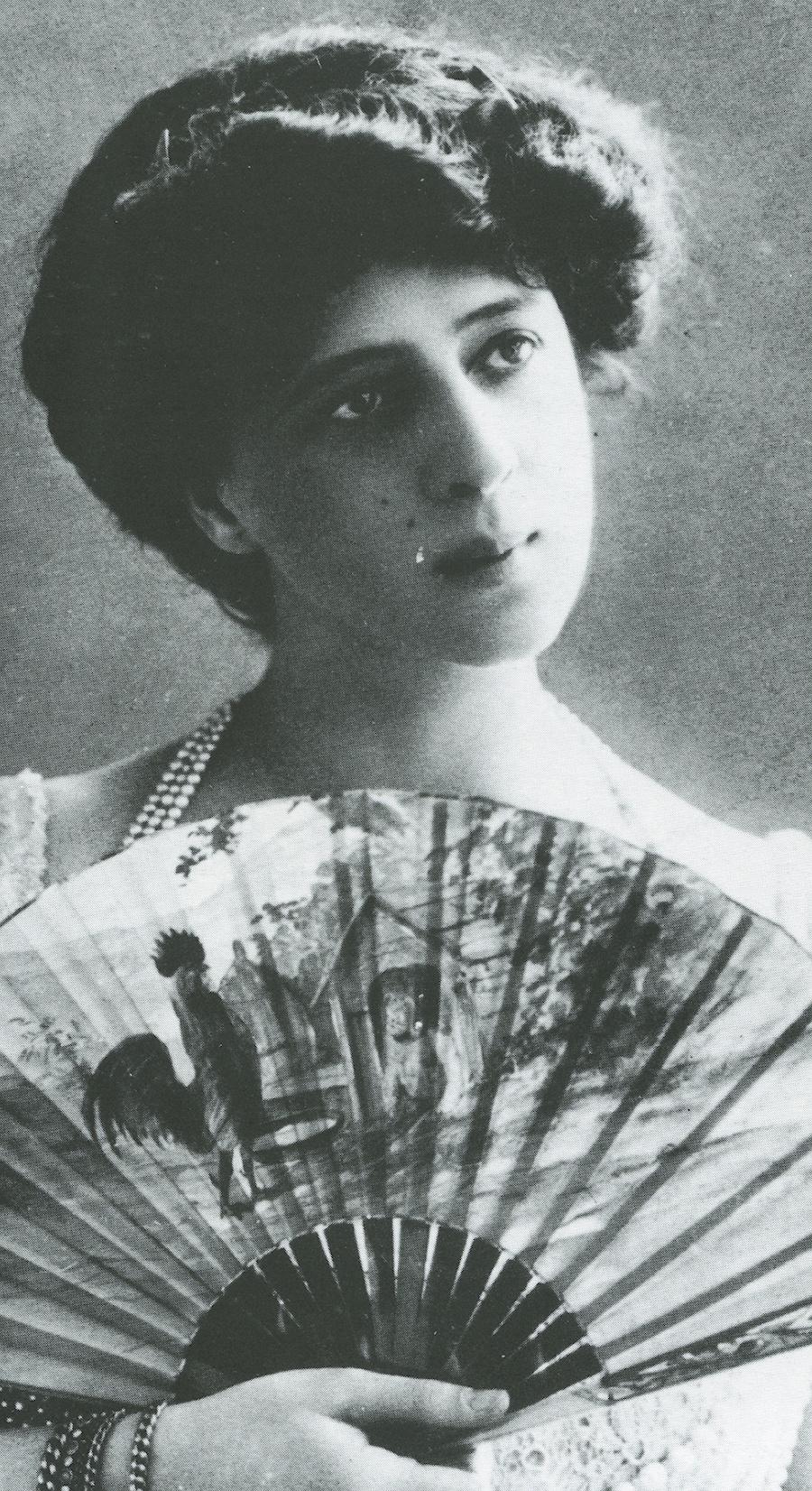 Franca Florio appena diciottenne