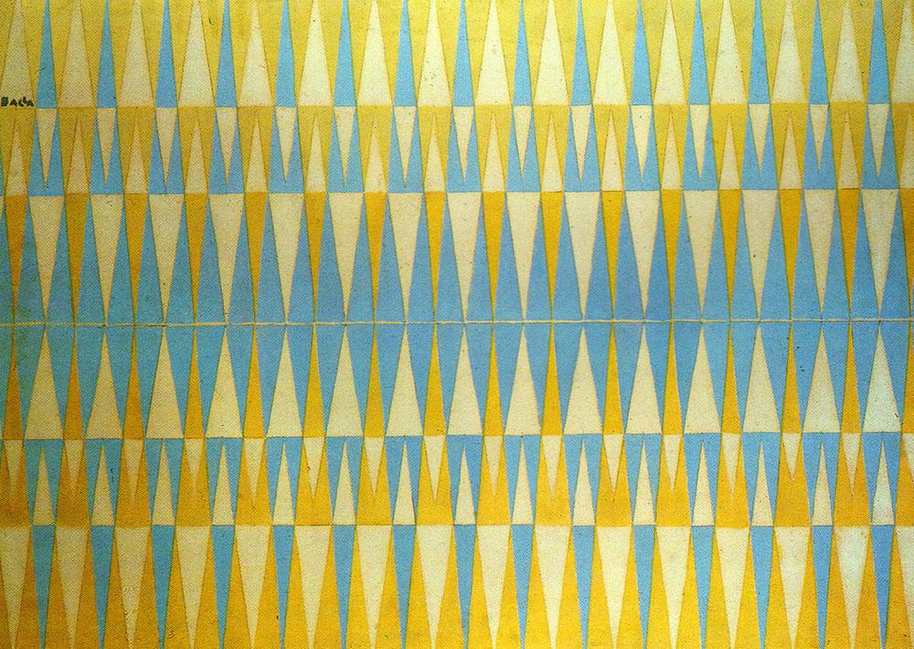 G. Balla, Compenetrazione iridescente n. 4, 1913