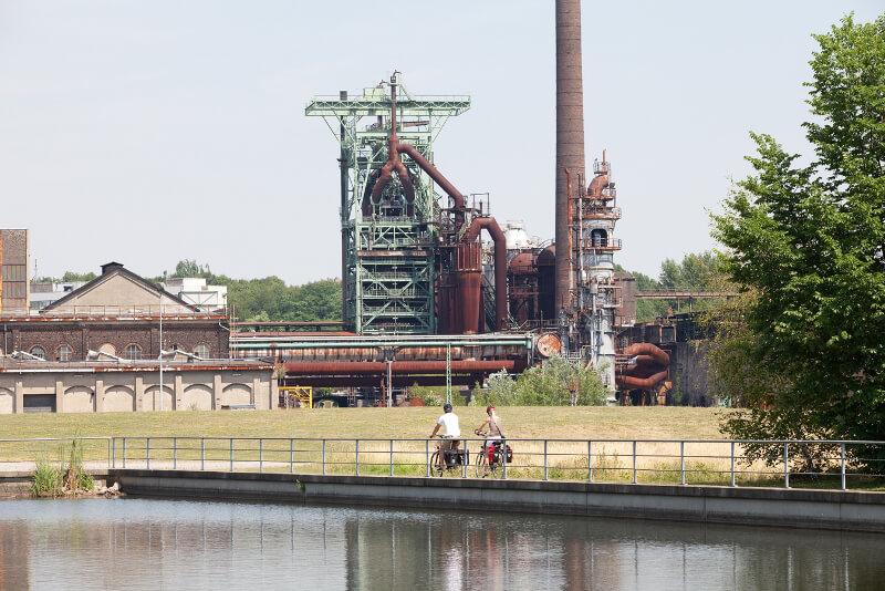 Ciclabile della Ruhr, tratto Henrichshuette-Hattingen