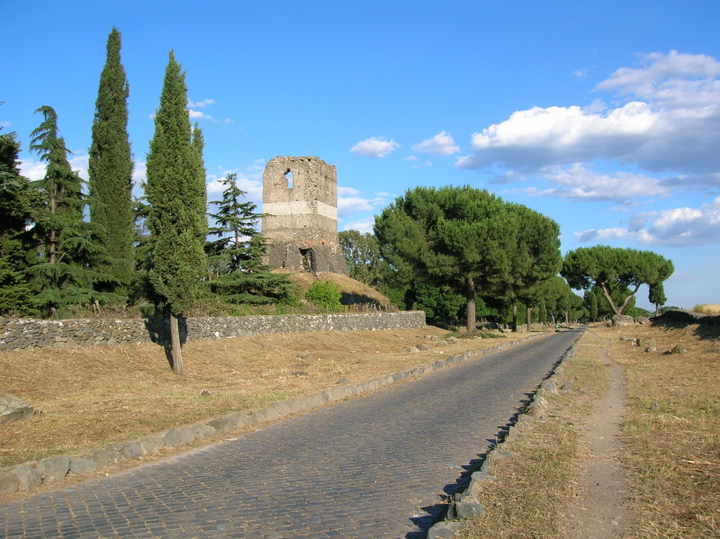 """Itinerario ciclabile sull'Appia antica """"Regina viarum"""""""