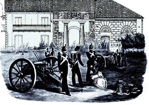 Mongiana, cannoni e fucili per l'esercito borbonico