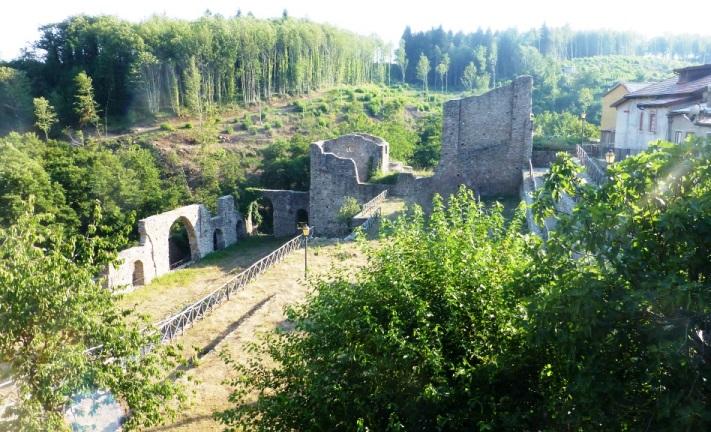 Mongiana, resti dell'antica fonderia