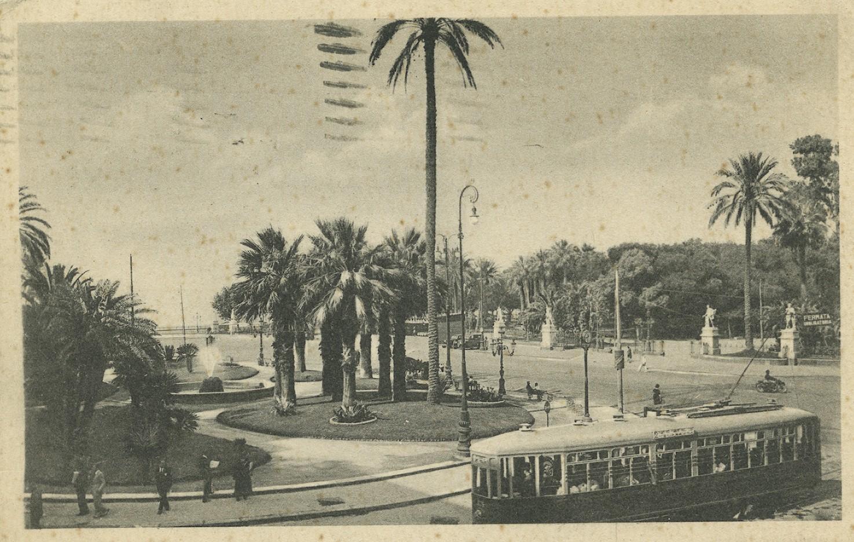 Napoli, Villa comunale, 1937