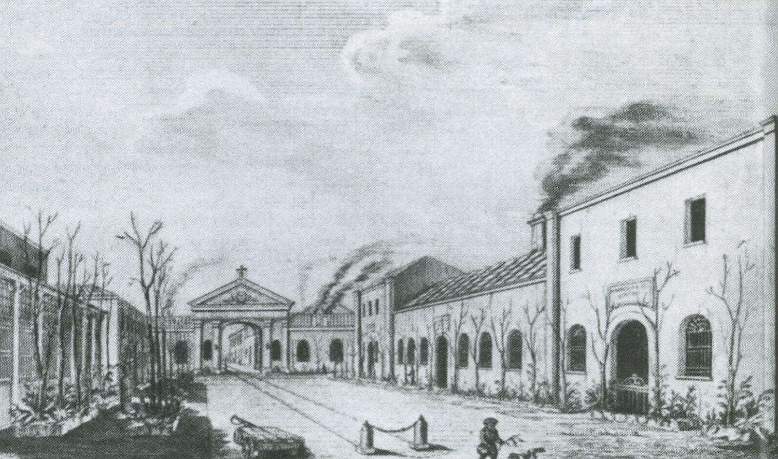 Pietrarsa, Officina locomotive