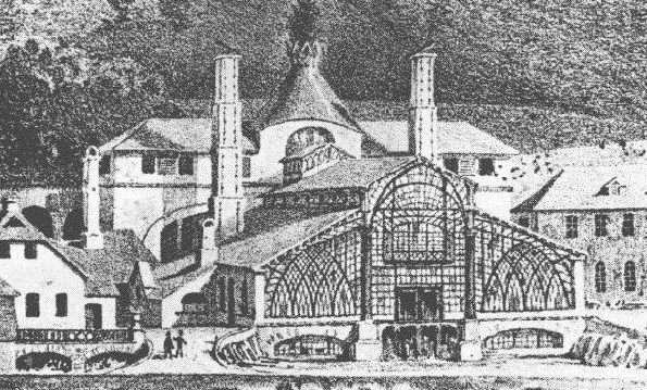 Lo stabilimento Sayner Hütte, 1830, Sayner Hütte © bendorf-geschichte