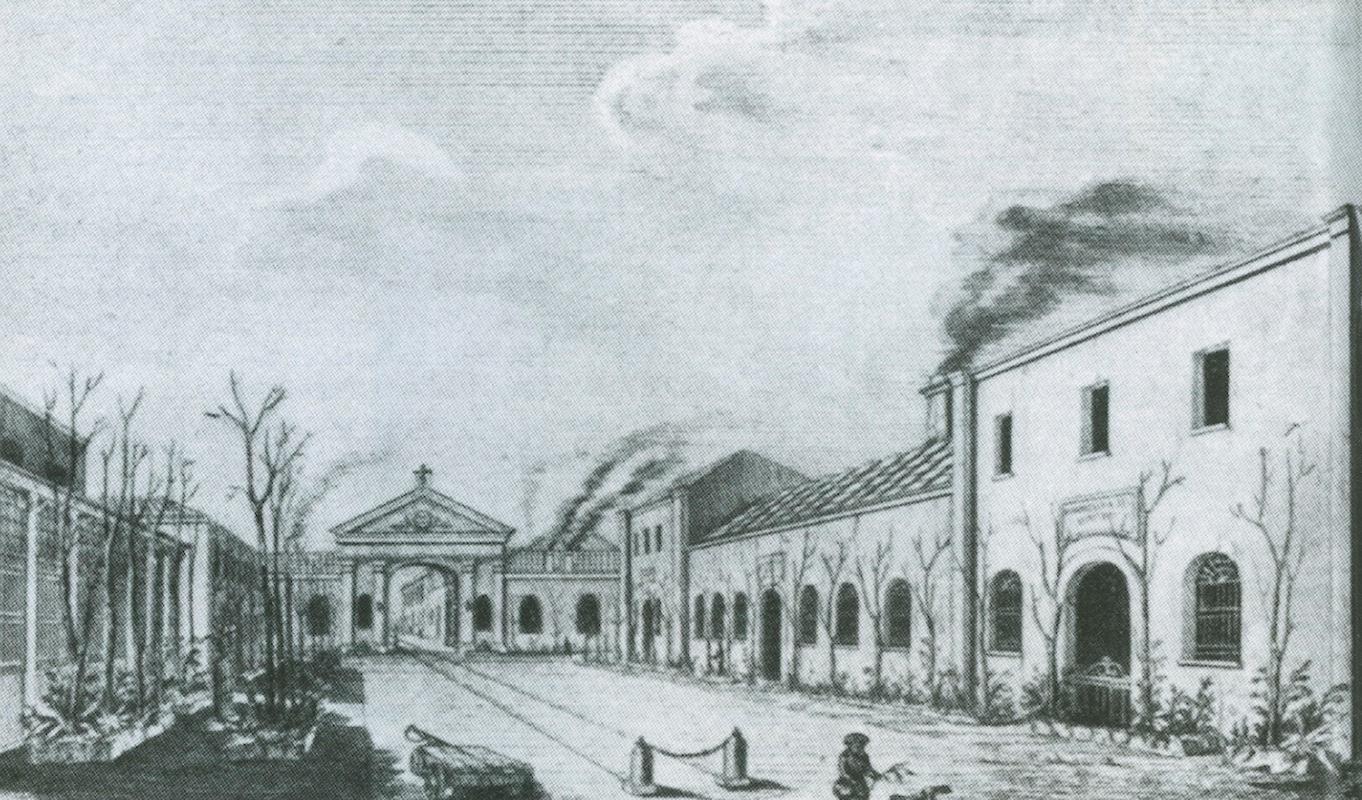 Pietrarsa, Officina delle locomotive