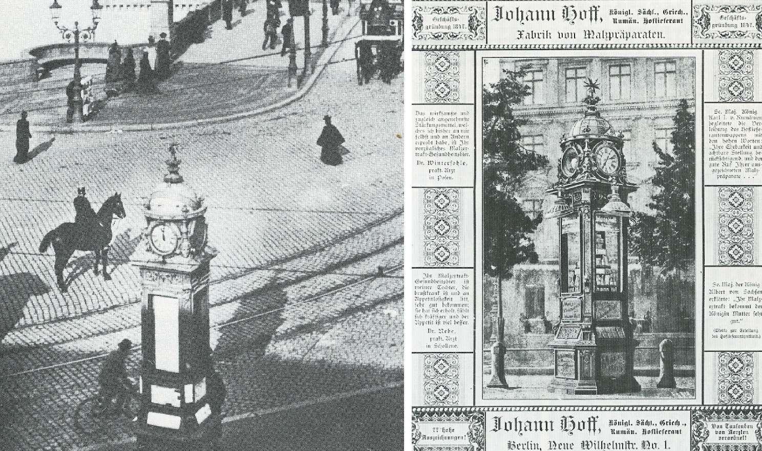 """Berlino, le """"colonne Urania"""""""
