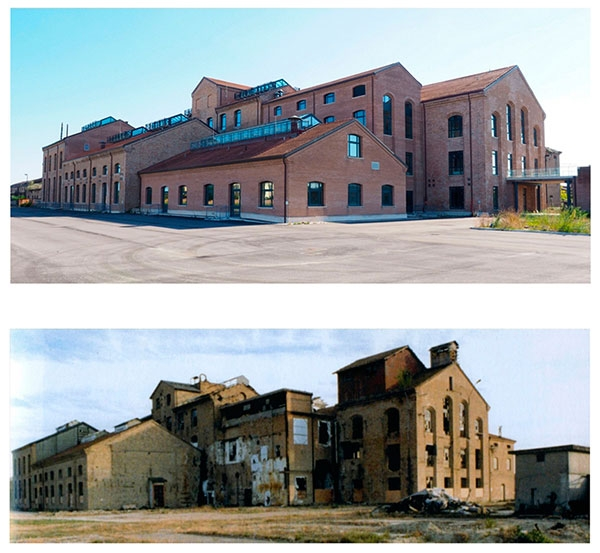 Il nuovo polo culturale di Ravenna dopo il recupero dell'ex Zuccherificio di Classe