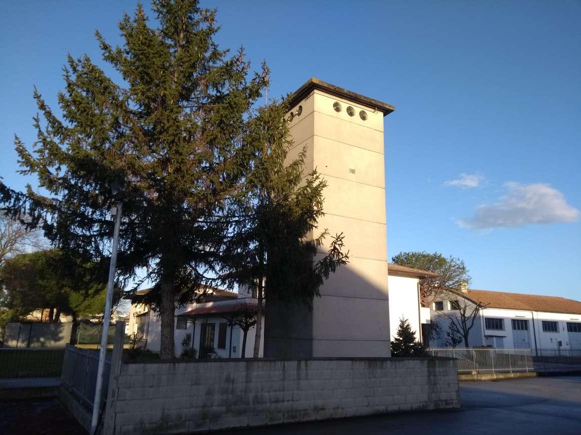 Cabina elettrica ubicata in prossimità del MIG - Museo Italiano della Ghisa