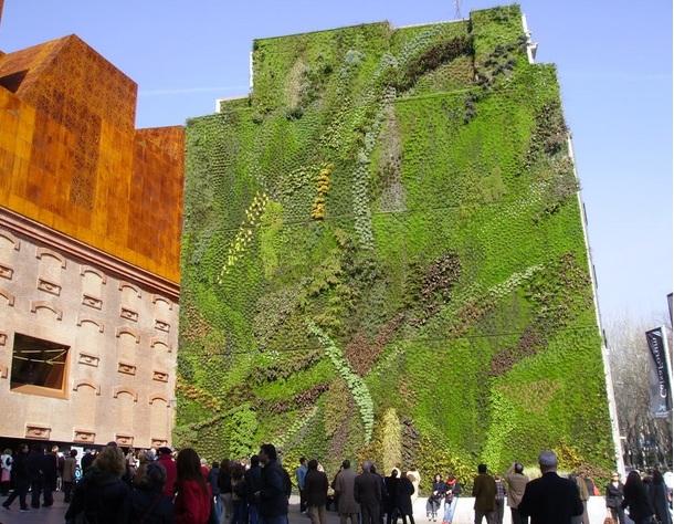 Giardino Caixa forum Madrid