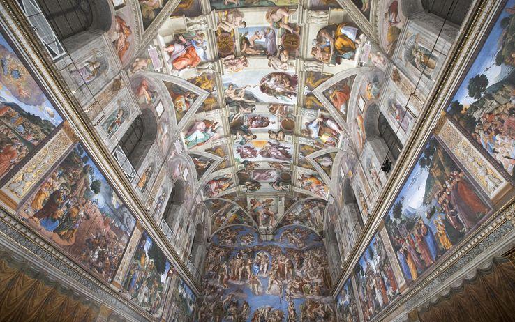 La nuova illuminazione a LED della Cappella Sisitina