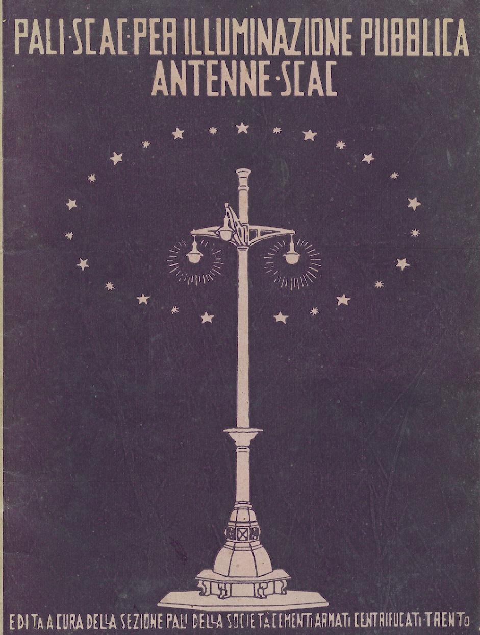Copertina del catalogo SCAC, Archivio Fondazione Neri