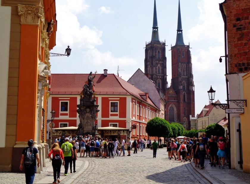 Breslavia, Ostrów Tumski