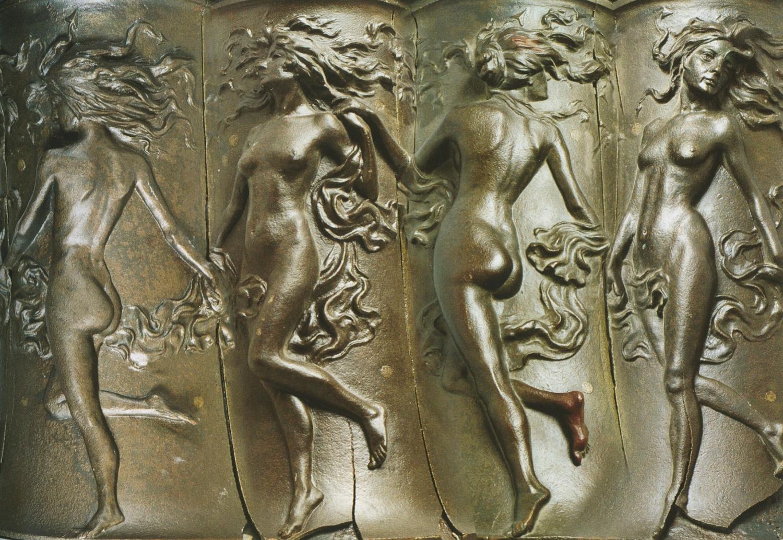 """Il girotondo delle """"divinità moderne"""", D. Cambellotti, 1896, MIG"""