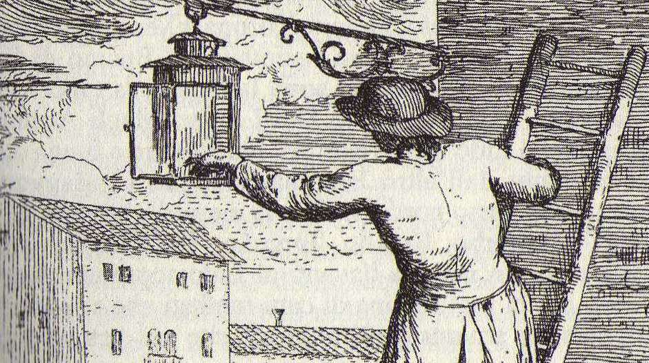 I ferali, primi fanali ad olio per l'illuminazione notturna di Venezia
