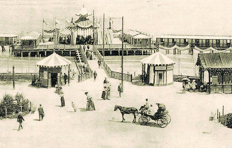 La Piattaforma a Mare di Rimini, inizi del '900