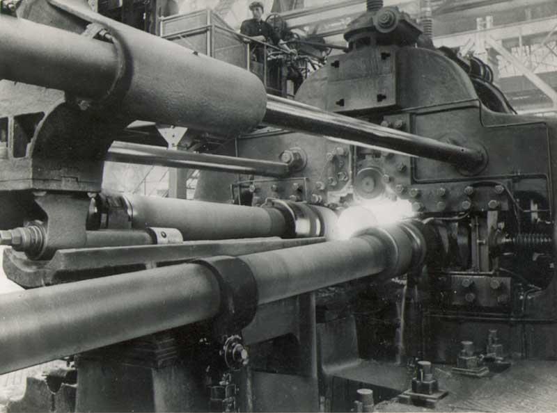 Processo di laminazione Mannesmann per tubi in acciaio senza saldatura