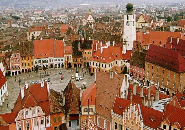 Sibiu, piazza Grande