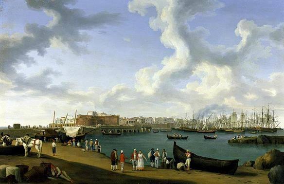 Il porto di Gallipoli nel XVIII secolo